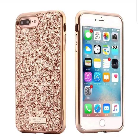 online retailer cc2c2 4a8fc Kate Spade iPhone 7 Plus/8 Plus Case - Rose Gold